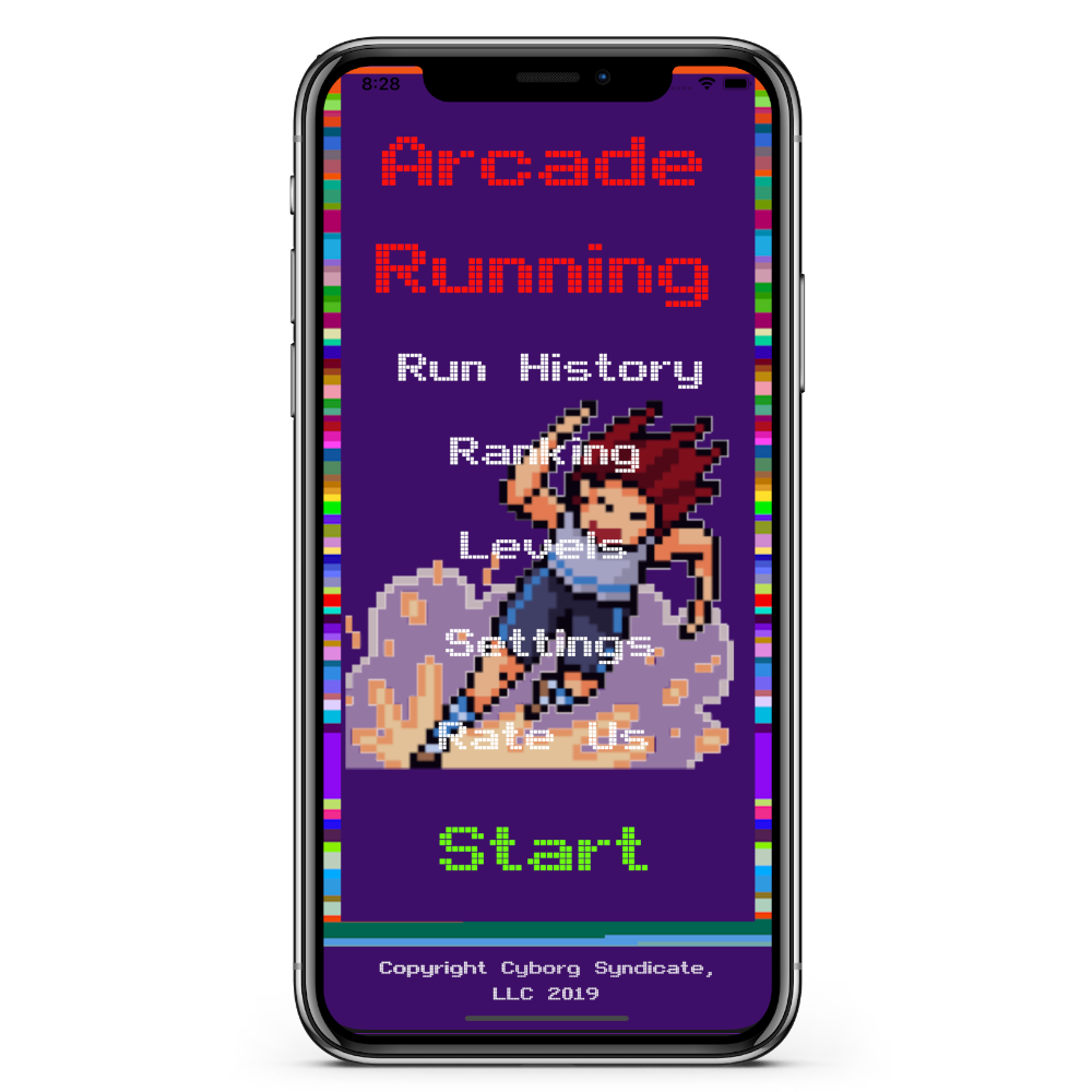 ARCADE RUNNER Screenshot